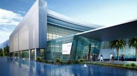 """""""Mengapung"""" di Atas Air, Bandara ini Diproyeksikan Beroperasi Akhir 2018"""