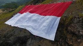 Jangan Lewatkan ! Merah Putih Raksasa Akan Berkibar di Sumatera Barat