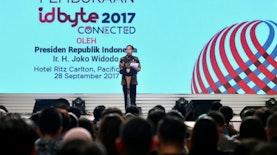 "Hadir di Pembukaan IDBYTE 2017, Jokowi: ""Ini Modal Indonesia Bersaing di Dunia Digital."""