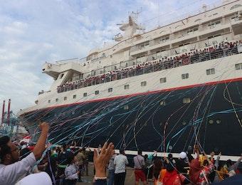 Haru, Pita Warna-Warni Tandai Pelepasan SSEAYP 2017 di Indonesia