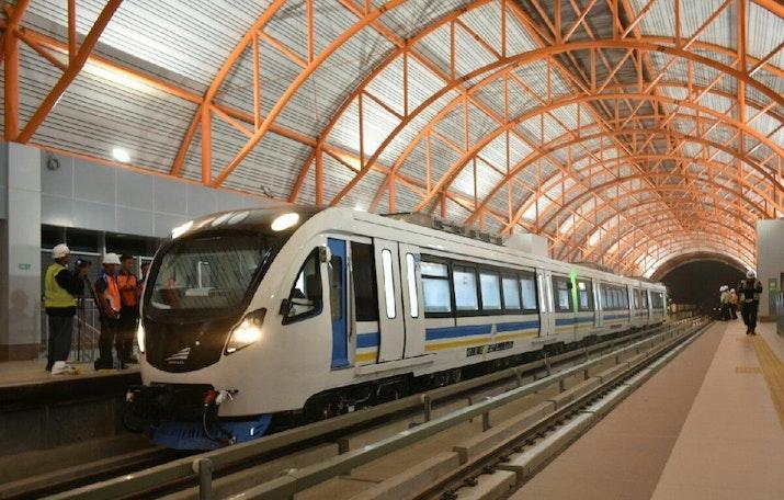 Siap Sambut Asian Games, LRT Pertama di Indonesia Ini Sukses Uji Coba!