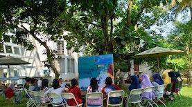 Belajar Bersama Maestro di Studiohanafi: Seni Berawal Dari Membaca Diri dan Lingkungan Terdekat