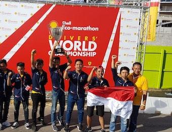ITS Juarai Shell-Eco Marathon World Driving Championships 2018