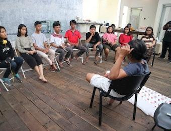 Belajar Bersama Maestro di Studiohanafi