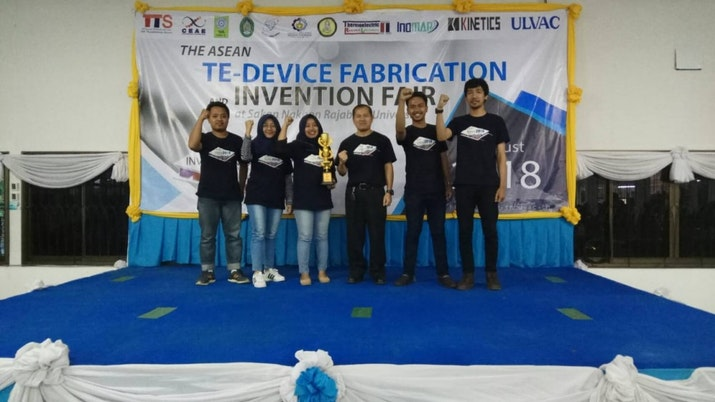 Mahasiswa ITS Juara di The ASEAN Thermoelectric Device Fabrication and Invention Fair