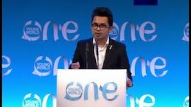 Bangga, Salah Satu Pemuda Indonesia Menjadi Pembicara di One Young World
