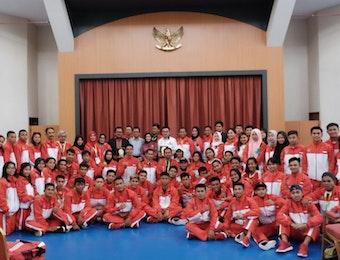 Indonesia Panen Emas dalam Ajang BIMPNT-EAGA Friendship Games