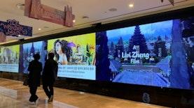 Livi Zheng Membawa Bali di Bangunan Tertinggi di Korea Selatan