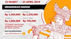 Yuk Ikutan Lomba Merekam Budaya Indonesia!