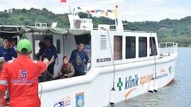 7 Pulau Kecil di Lombok Selatan Kini Terjangkau Oleh Klinik Apung