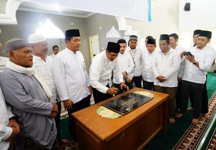 YBM PLN Resmikan Masjid Cahaya di Kepulauan Mentawai