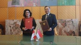 Di Jenewa, Indonesia dan Singapura Bahas Kerja Sama Pengendalian Penyakit