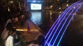 Yuk Coba Nonton Film di Atas Sungai Tukad Badung, Denpasar