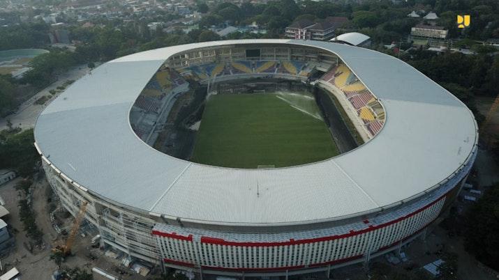 Stadion Manahan yang Semakin Menawan