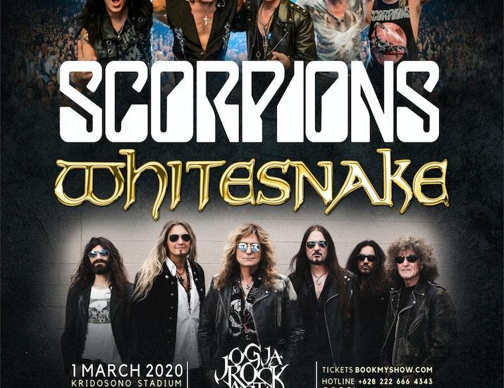 Scorpions dan Whitesnake Siap Getarkan JogjaROCKarta Festival 2020
