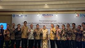 BNI Resmi Bekerjasama Kelola Dana Operasional Pelindo III