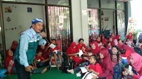 Aksi Dongeng Kemanusiaan Bersama 100 anak Difabel