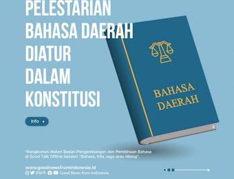 Bahasa, Amanat Konstitusi yang Harus Dijaga