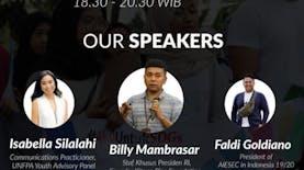 #BerbagiPandangan bersama AIESEC, Youth Voice Matter!