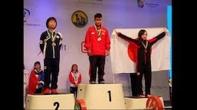 Tak Hanya Eko Yuli, Atlet Asal Kalimantan Timur Juga Raih 2 Medali Emas di Kejuaraan Dunia