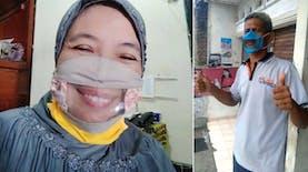 Ketua Gerkatin Buat Masker Transparan untuk Penyandang Difabel Rungu