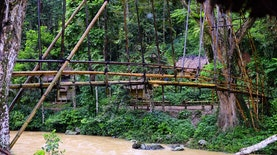 Konstruksi Jembatan Konservatif Orang Baduy