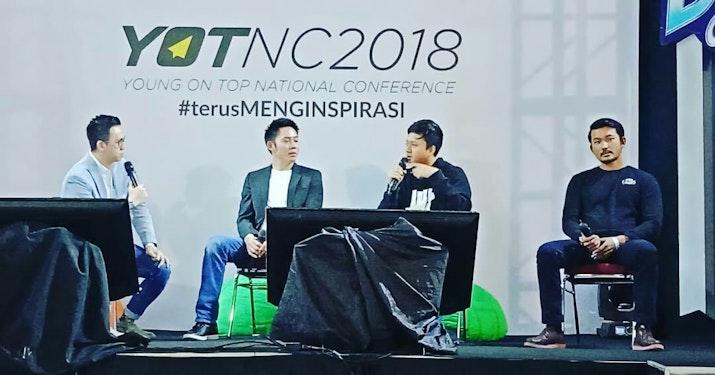 Menggapai Inspirasi tanpa Henti di Young on Top National Conference 2018!