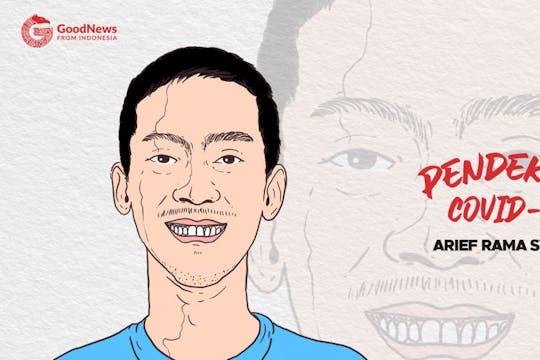 Gambar sampul Arief Rama, Konsisten Beri Kursus Data Science Secara Gratis di Tengah Pandemi