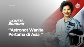 Astronot Wanita Pertama di Asia