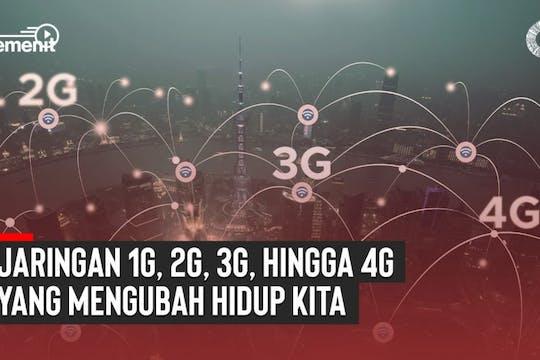 Gambar sampul Jaringan 1G hingga 4G yang Mengubah Hidup Kita