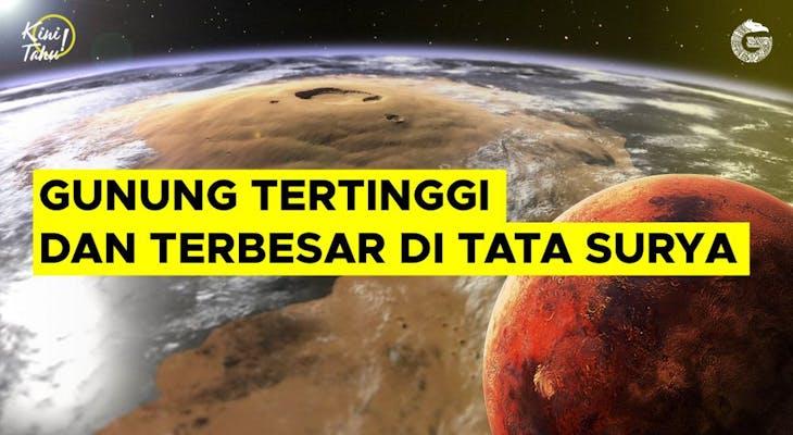 Gambar sampul Mengenal Gunung Teringgi dan Terbesar di Tata Surya