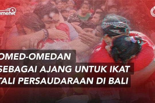 Gambar sampul Omed-omedan, Festival Peluk Cium di Bali