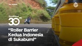 Roller Barrier Kedua Indonesia Terpasang di Sukabumi