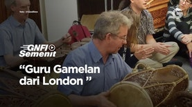 Sang Guru Gamelan dari London