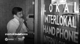 "Wartel, ""Bilik Ajaib"" Penyambung Telekomunikasi Jutaan Rakyat"